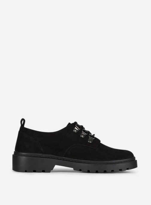 Dorothy Perkins Black 'Luck' Brogues