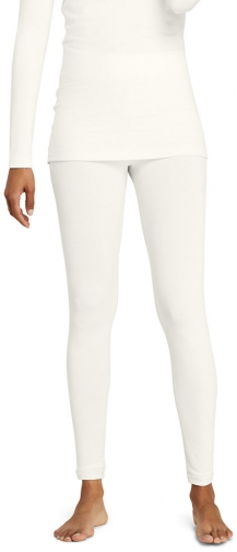 Lands' End Women's Natural Thermaskin Pants - Lands' End - Ivory - XS Trouser