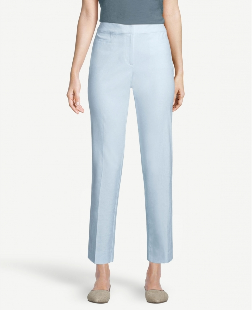 Ann Taylor Factory Chambray Crop Pants Trouser
