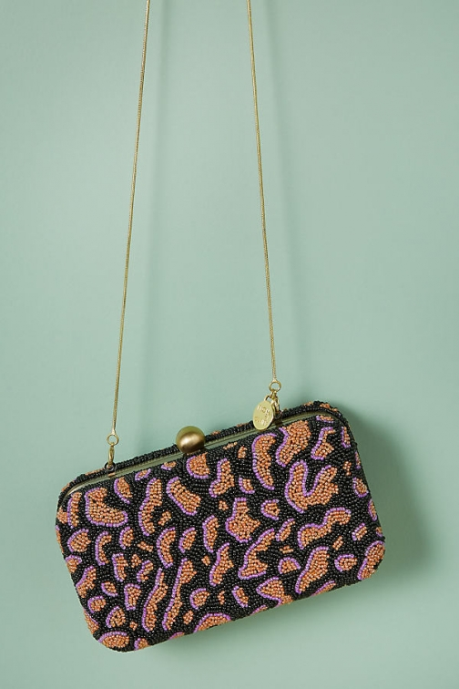 St Xavier From St Xavier Bead-Embellished Clutch