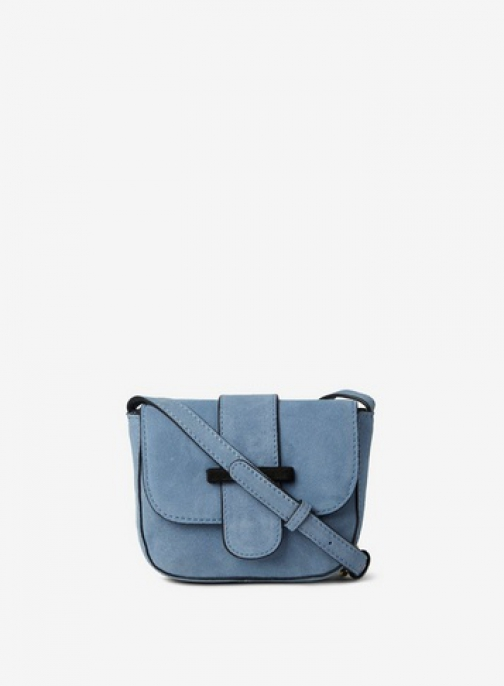 Pieces Blue 'Bivonne' Cross Body Bag Crossbody Bag