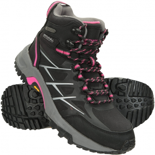 Mountain Warehouse Byzantine Waterproof Vibram Womens - Black Boot