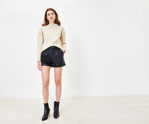 Oasis Faux Leather Short