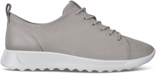 Ecco Flexure Runner Womens Shoe Sneakers Size 5/5.5 Grey Rose Trainer