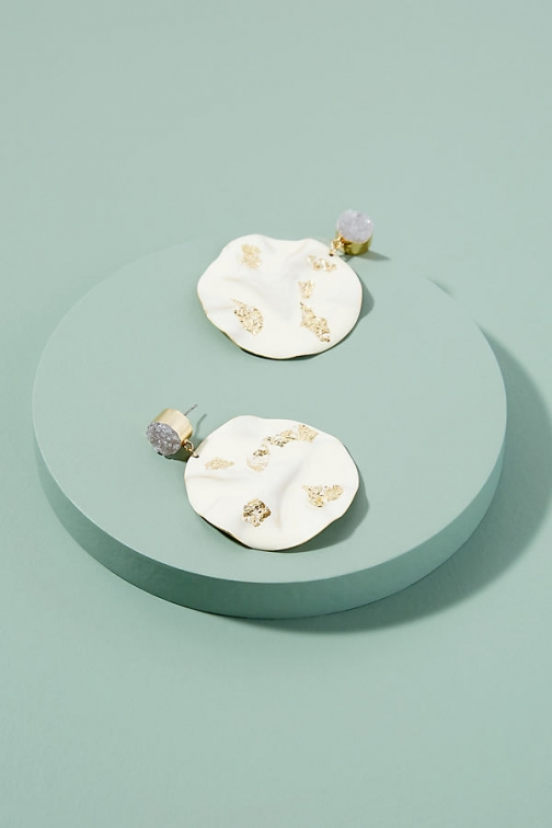 Anthropologie Dionne Mixed-Media Earring