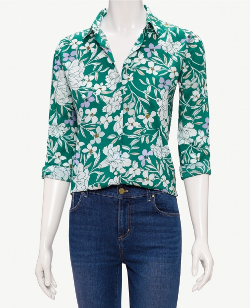 Oasis Floral Button Down Shirt