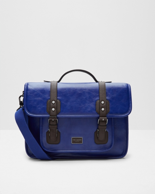 Ted Baker Detachable Strap Blue Satchel