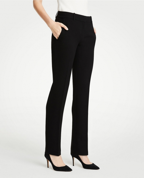 Ann Taylor The Tall Straight Pant Doubleweave Suit