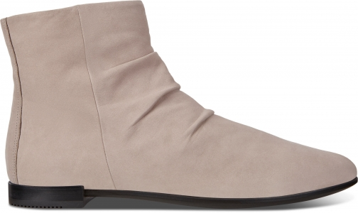 Ecco Shape Womens Pointy Size 4/4.5 Grey Rose Boot
