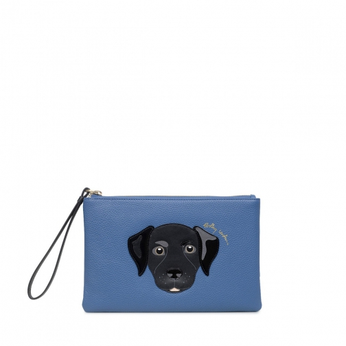 Radley & Friends Medium Zip-Top Pouch