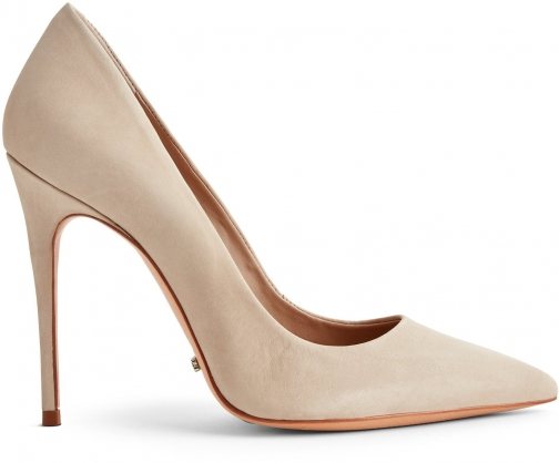 Schutz Shoes Caiolea Pump - 5 Oyster Nubuck Pumps