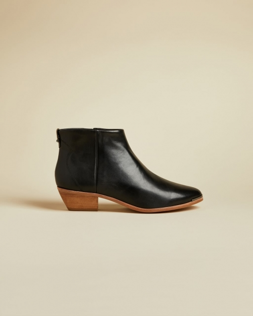 Ted Baker Leather Studded Ankle Boot
