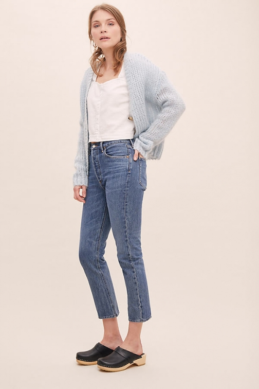 Citizens Of Humanity AGOLDE Riley High-Rise Straight-Leg Jeans Straight Leg Jeans