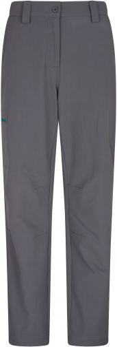 Mountain Warehouse Womens Hike 4-Way-Stretch Warm Trousers - Grey Trouser