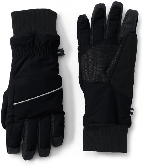 Lands' End Women's Squall - Lands' End - Black - M Glove