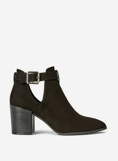 Dorothy Perkins Black 'Absin' Cut Out Ankle Boot