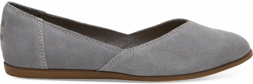 Toms Shade Suede Women's Jutti Shoes Flats