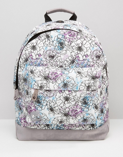 Mi-pac Premium Unfinished Floral Backpack