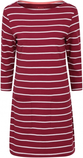 Mountain Warehouse Lily Womens Organic Pocket - Burgundy Dress