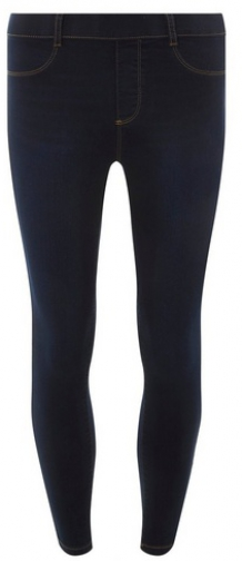 Dorothy Perkins Blue Black 'Eden' Super Soft Ankle Grazer Jegging
