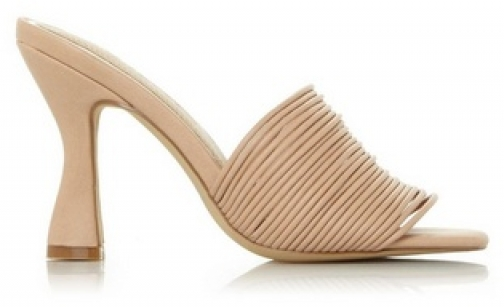 Head Over Heels By Dune Nude 'Mae' High Heel Sandals
