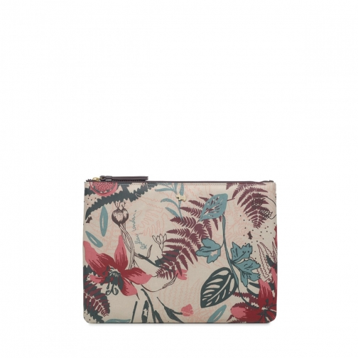 Radley Botanical Floral Medium Tech Pouch