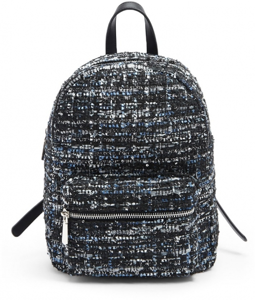 Forever21 Forever 21 Metallic Tweed Black/multi Backpack