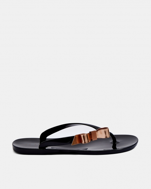 Ted Baker Bow Detail Jelly Flip Flop