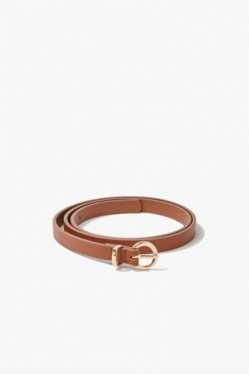 Forever21 Forever 21 Faux Leather Hip , Brown Belt