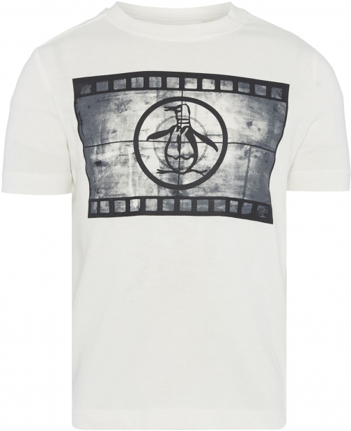 Original Penguin Boys Film Reel Graphic T-Shirt
