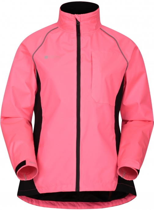 Mountainlife Adrenaline Womens Waterproof Iso-Viz - Pink Jacket