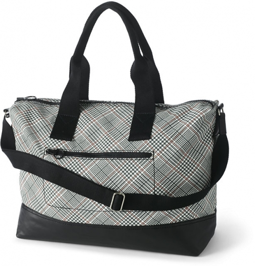 Lands' End Print Canvas Weekender - Lands' End Duffle Bag