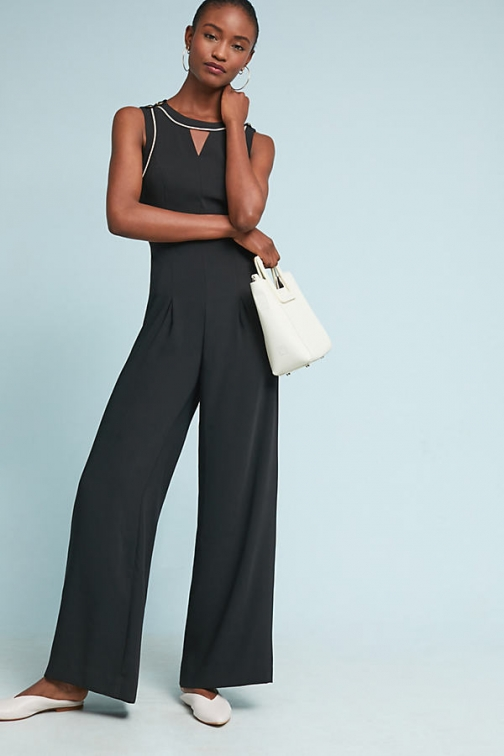Anthropologie Whitney Tailored Jumpsuit