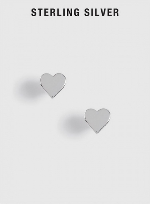 Dorothy Perkins Sterling Silver Heart Earring