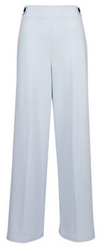 Dorothy Perkins Grey Tab Detail Wide Leg Trouser