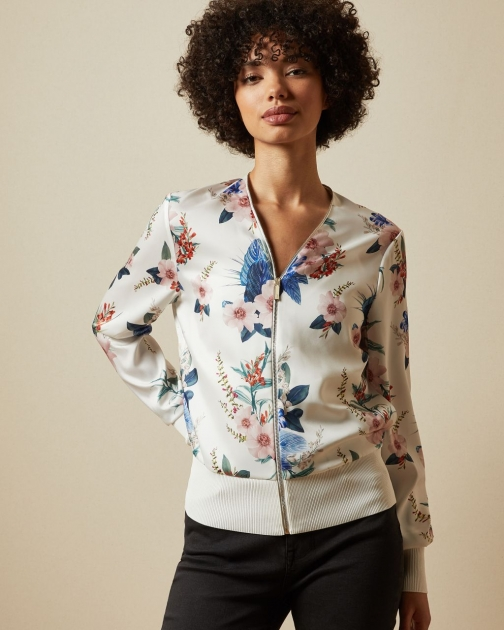 Ted Baker Jamboree Printed Bomber Jacket