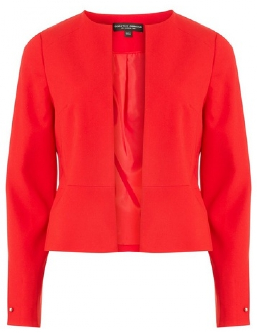 Dorothy Perkins Womens Red Bar Cuff - Red, Red Jacket