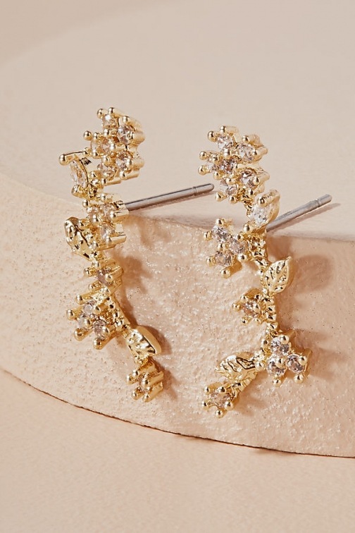 Anthropologie Wisteria Climber Earring