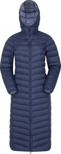 Mountain Warehouse Florence Womens Extra Long Padded - Navy Jacket