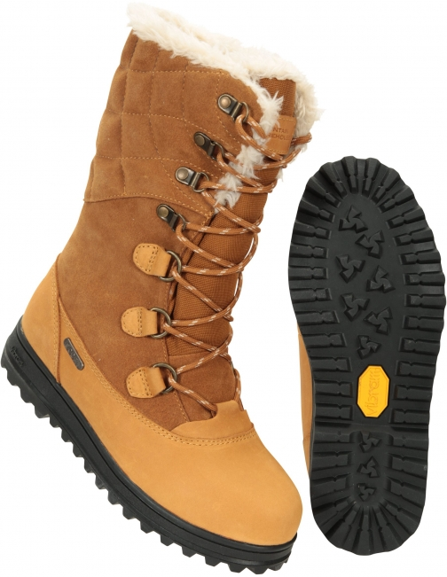 Mountain Warehouse Vostock Womens - Brown Snow Boot