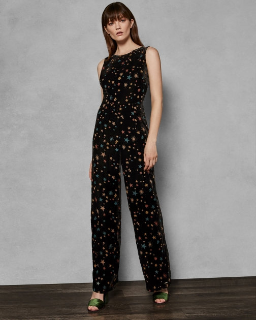 Ted Baker Devore Star Jumpsuit