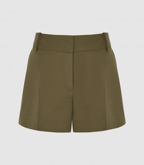 Reiss Lyla - Tailored Khaki, Womens, Size 6 Short