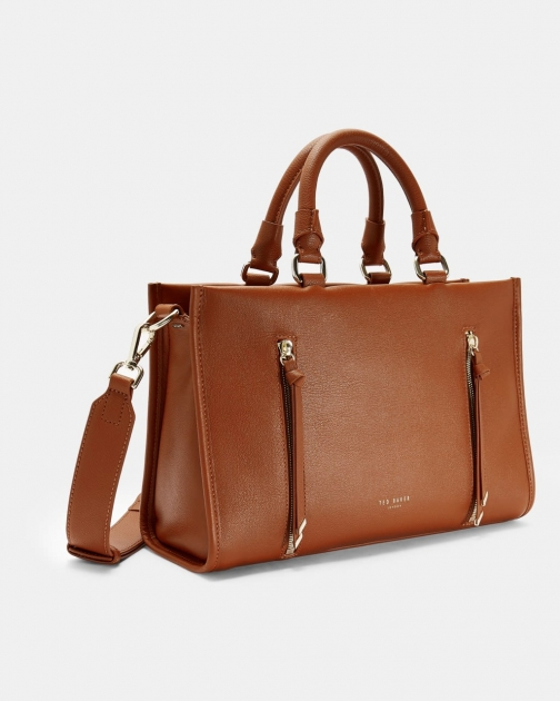 Ted Baker Double Zip Small Bag Tote