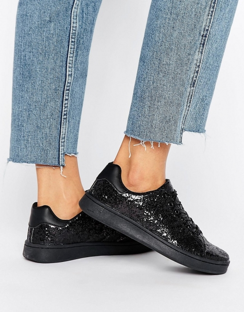 Truffle Collection Glitter Trainer