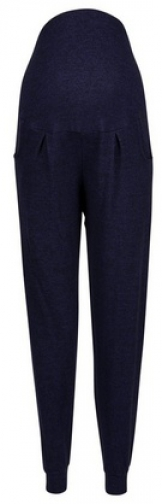 Dorothy Perkins Maternity Navy Brushed Overbump Jogger