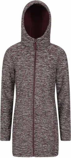 Mountain Warehouse Stirling Womens Sherpa Lined - Burgundy Hoodie