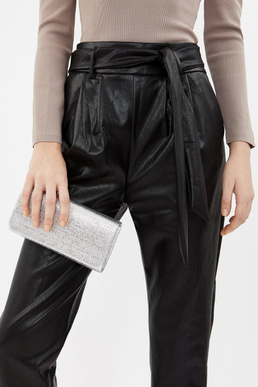 Coast Textured Bag Silver, Silver Clutch