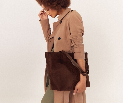 Oasis Whipstitch Tote