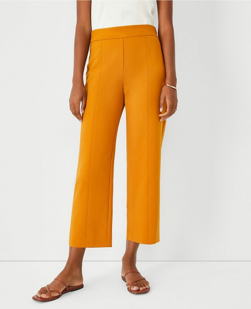Ann Taylor The Straight Crop Pant Trouser