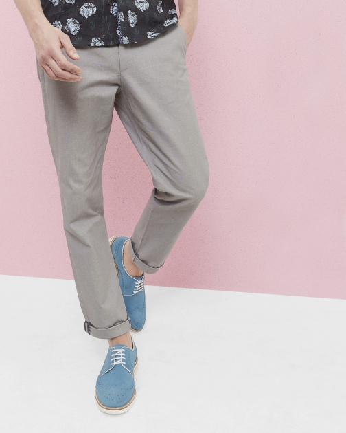 Ted Baker Classic Fit Oxford Cotton Chino